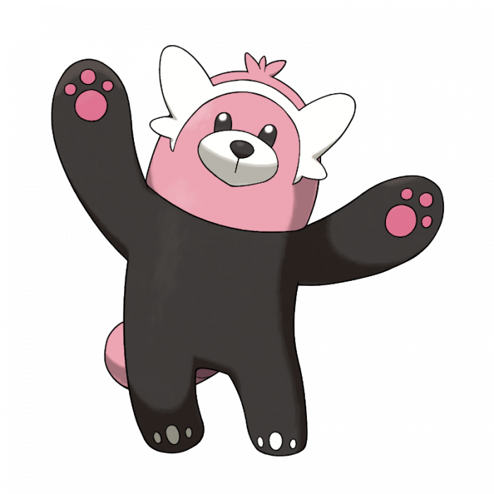 Bewear en Pokémon Sol y Pokémon Luna