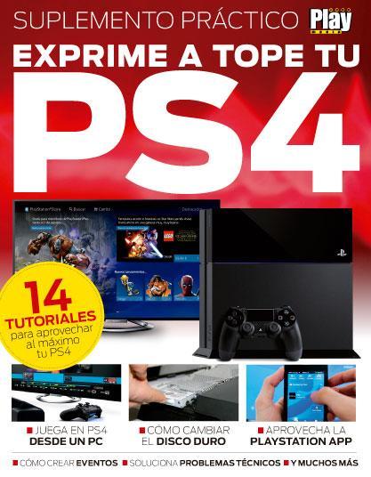 Portada suplemento práctico PS4 de regalo en Playmanía 213