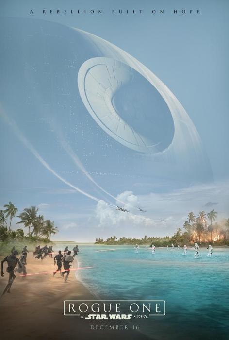 Poster Rogue One. Una historia de Star Wars