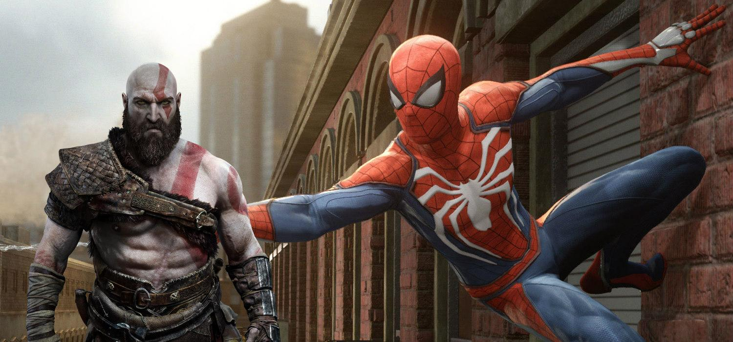 Spider-Man y God of War