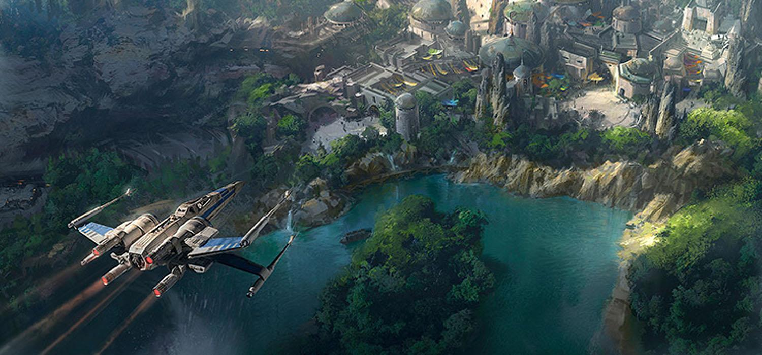 Star Wars Land b