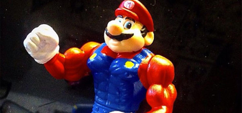 Super mario musculado