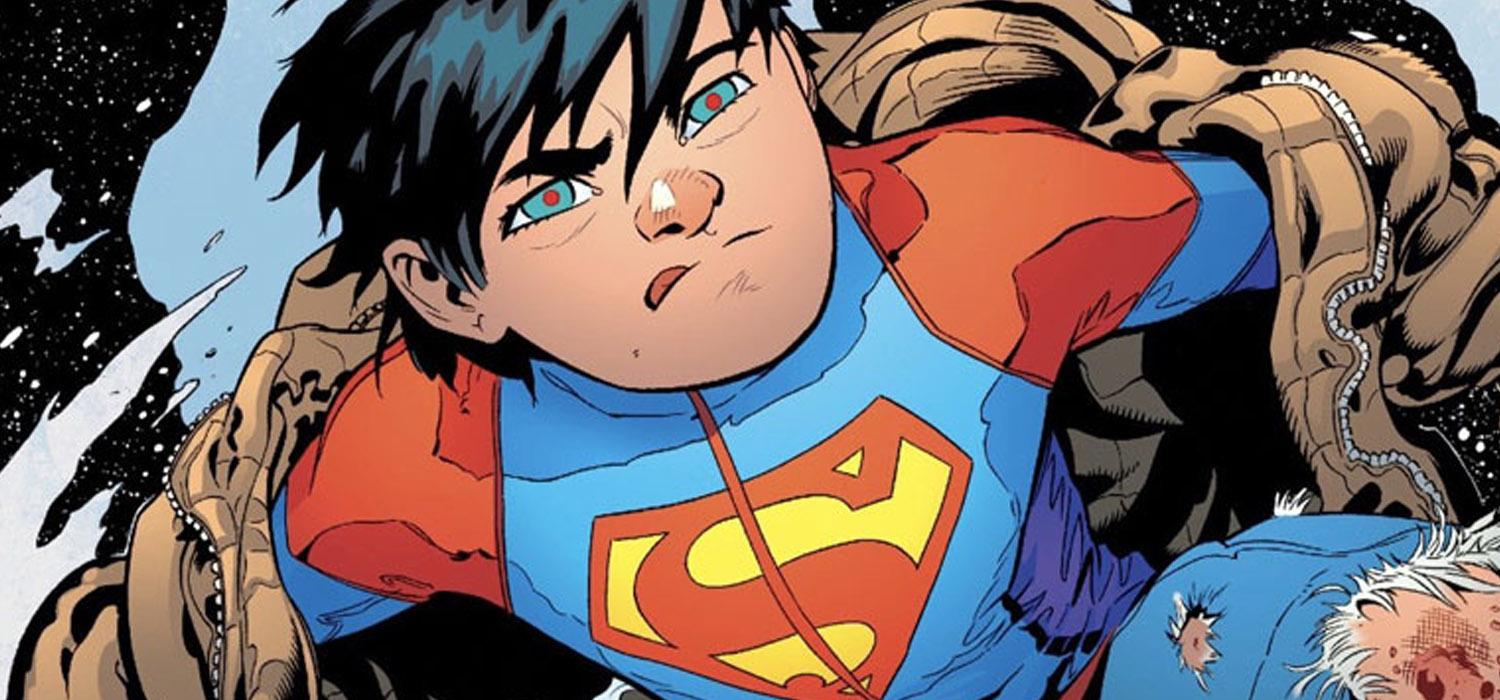 Superman Superboy comic