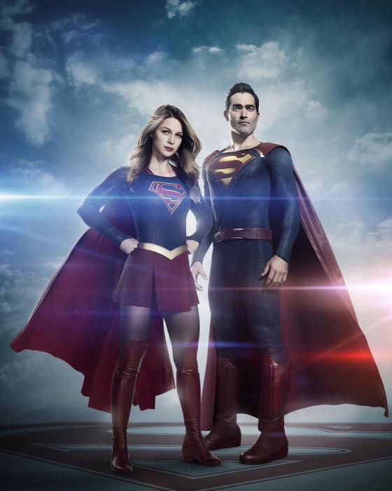 Tyler Hoechlin como Superman - Supergirl