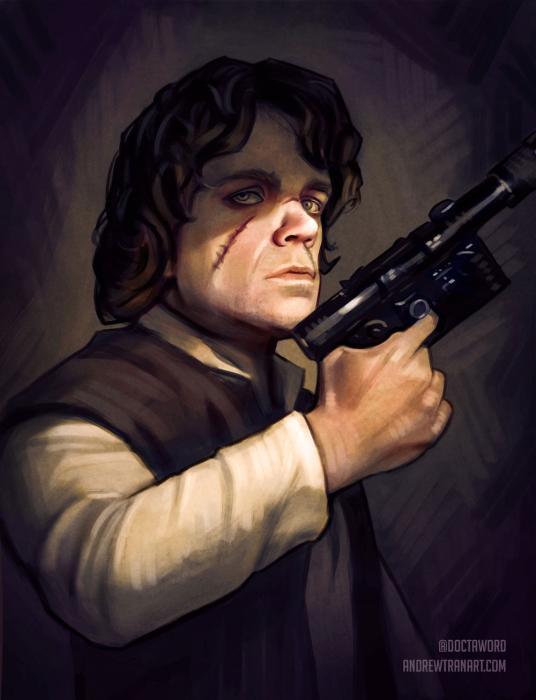 Juego de tronos, Star Wars, Fan-art
