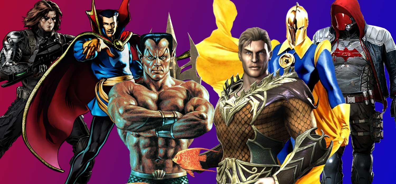 11 Superhéroes DC Marvel 2