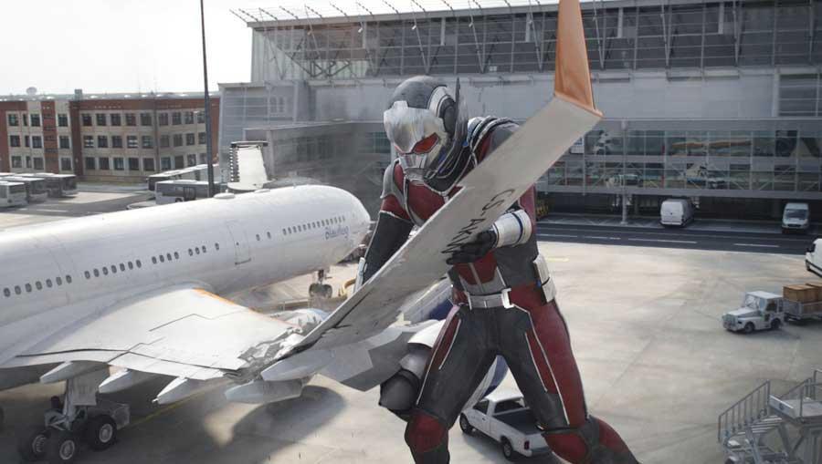 Ant-Man en el equipo de Iron Man