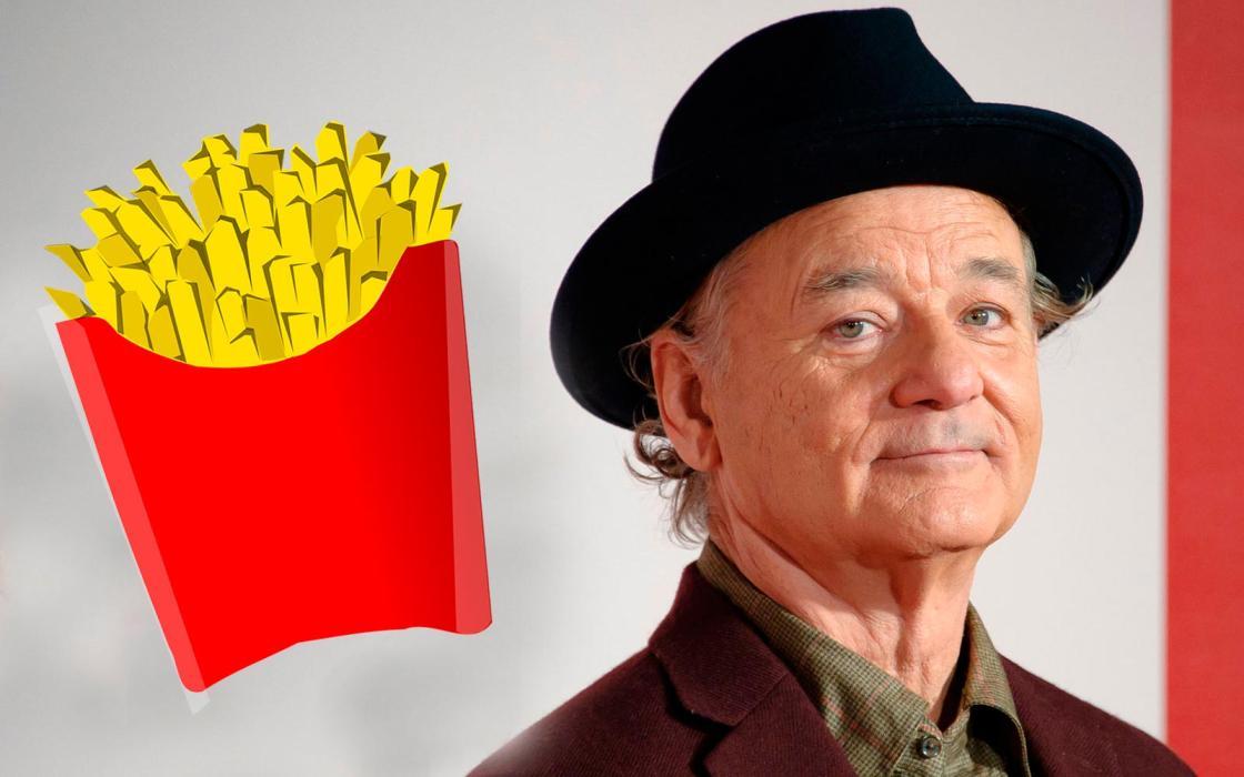 Bill Murray roba-patatas