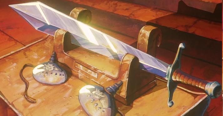 Espada Trunks / Tapión