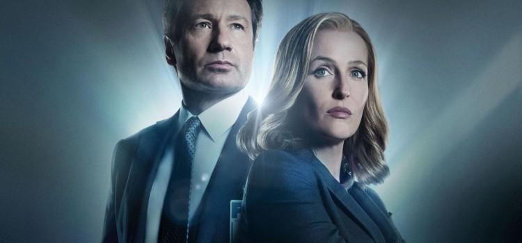 X-Files, David Duchovny, Gillian Anderson