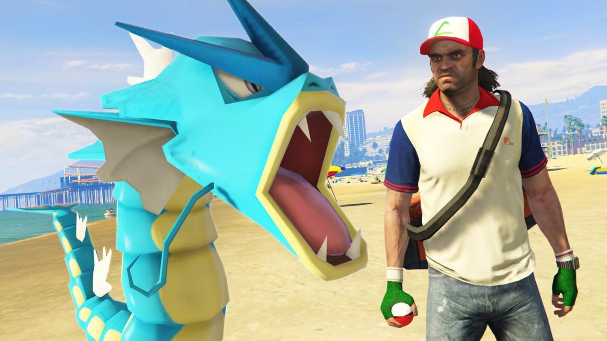 GTA V Pokémon Go
