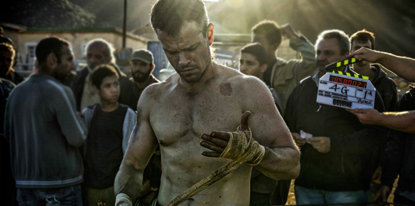 Matt Damon El caso Bourne Jason Bourne
