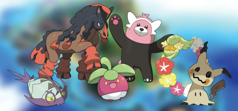 Pokémon Sol y Luna - Todos los nuevos Pokémon y formas de Alola