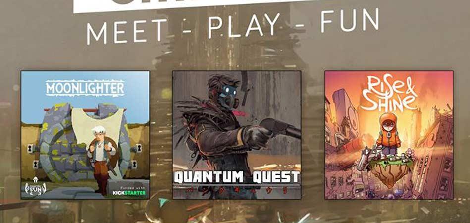 Reunión para jugar a tres videojuegos españoles muy esperados