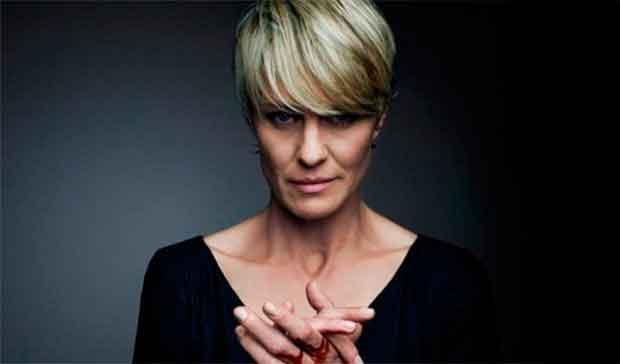 Robin Wright en House of Cards (Claire Underwood)