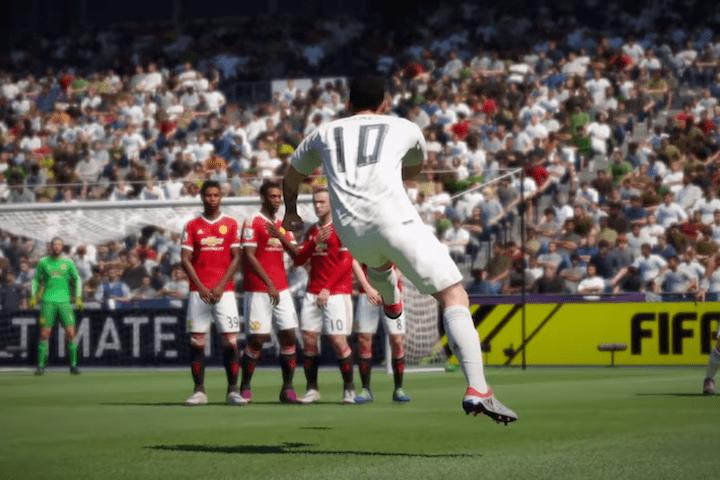 FIFA 17 faltas