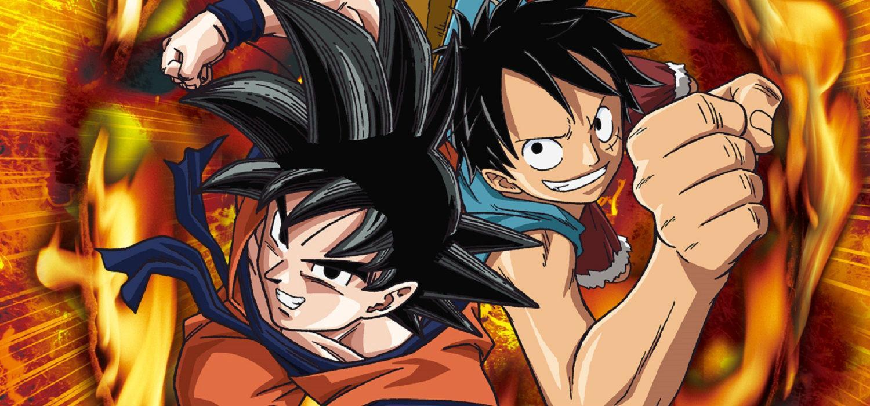 Goku y Luffy