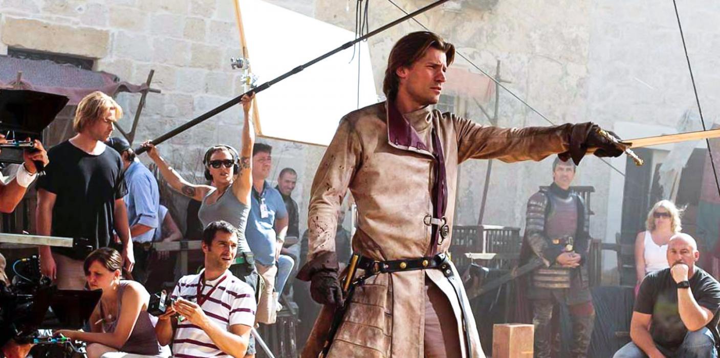Rodaje, Jaime Lannister