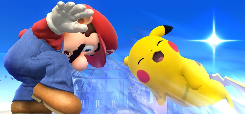 Mario y Pikachu
