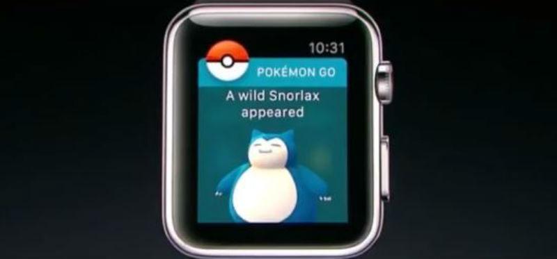 Pokémon GO en Apple Watch