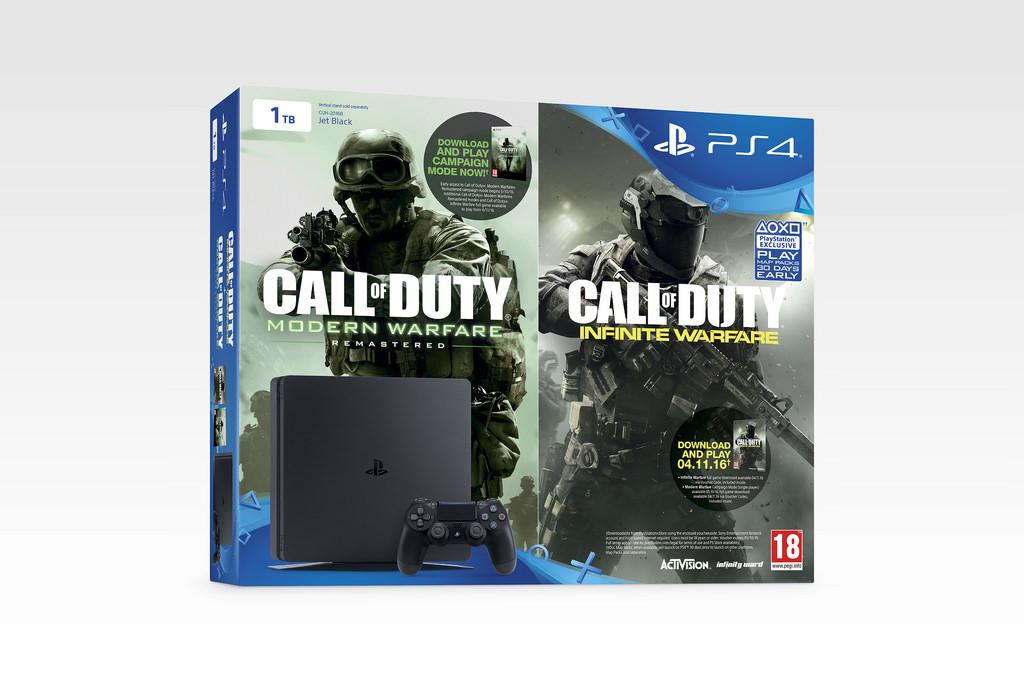 PS4 Slim pack CoD Infinite Warfare