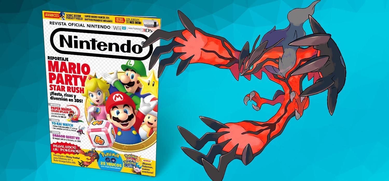 Revista Oficial Nintendo 289 con Shiny Yveltal de regalo