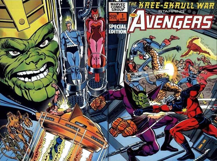 Vengadores: Guerra Kree-Skrull