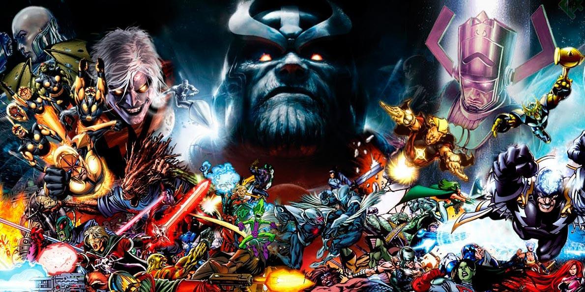 Villanos Marvel
