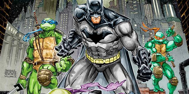 Batman y las Tortugas Ninja crossover