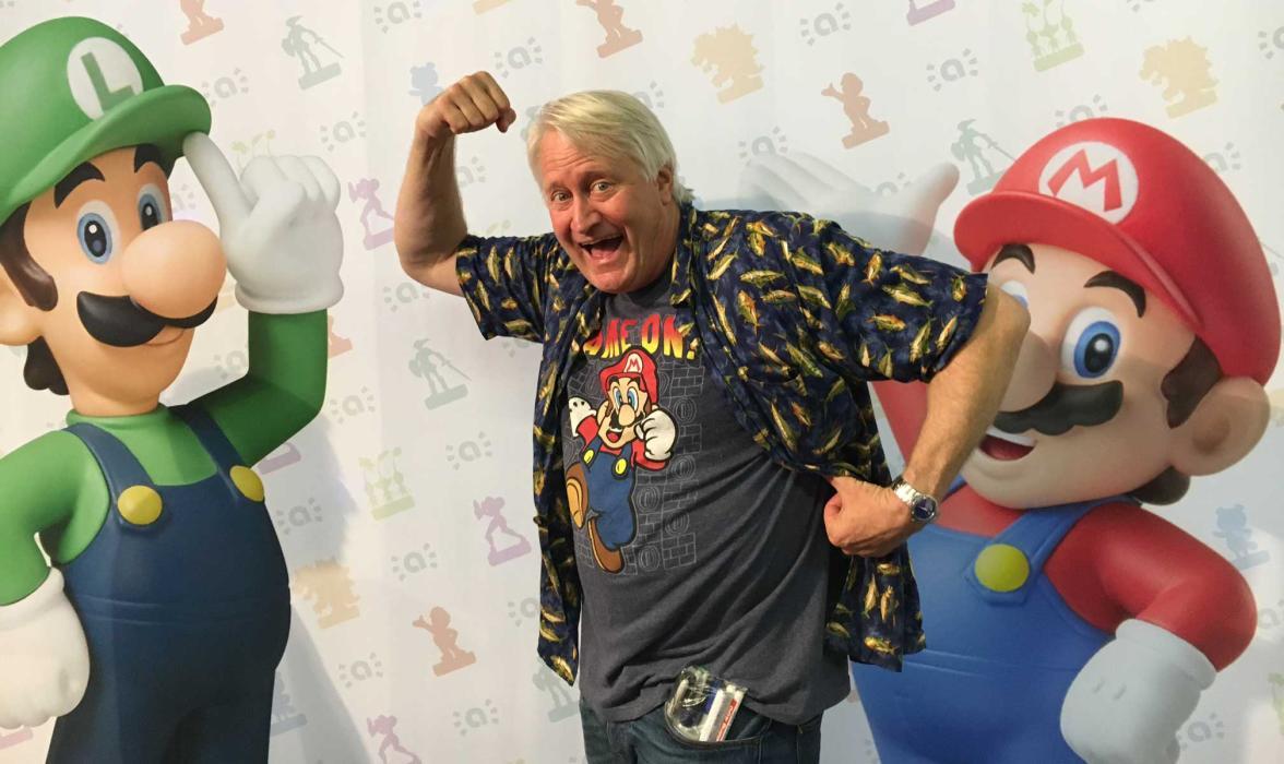 Entrevista a Charles Martinet, la voz de Super Mario