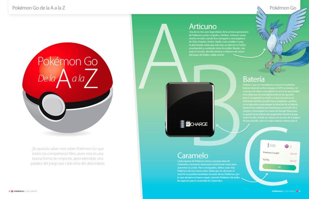Guía completa de Pokémon Go: contenidos