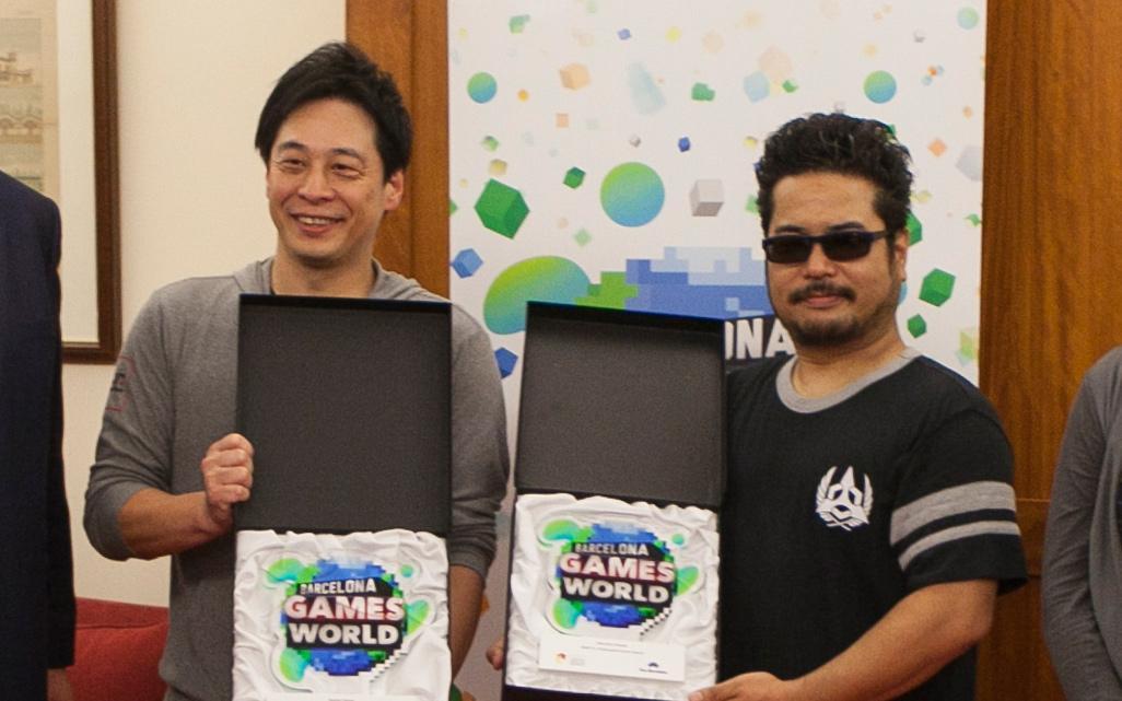 Hajime Tabata y Katsuhiro Harada