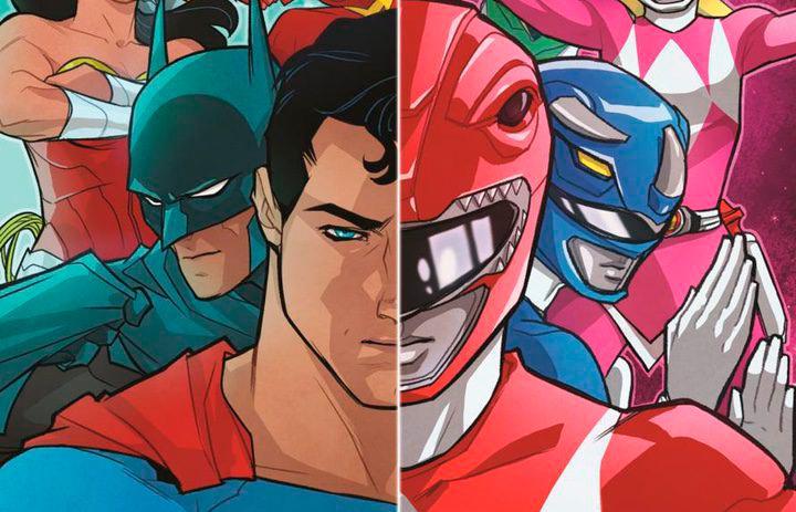 Liga de la Justicia y Power Rangers unidos en un cómic