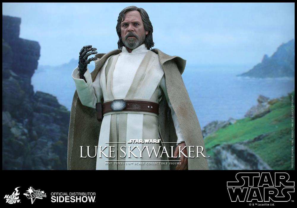 Luke Skywalker. La figura de Hot Toys de Star Wars: El Despertar de la Fuerza