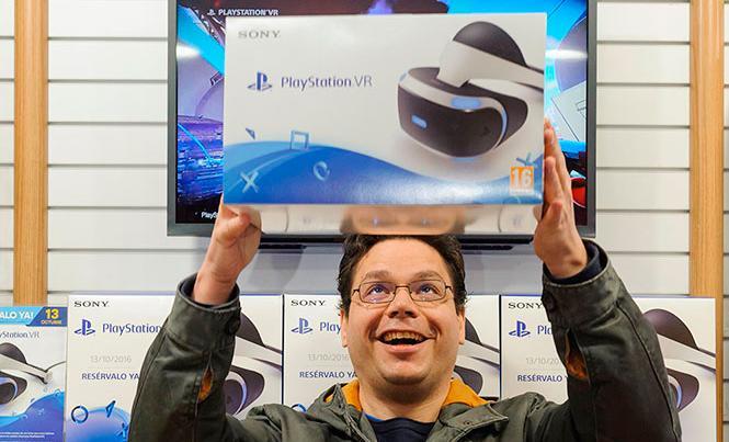 PS VR - Lanzamiento