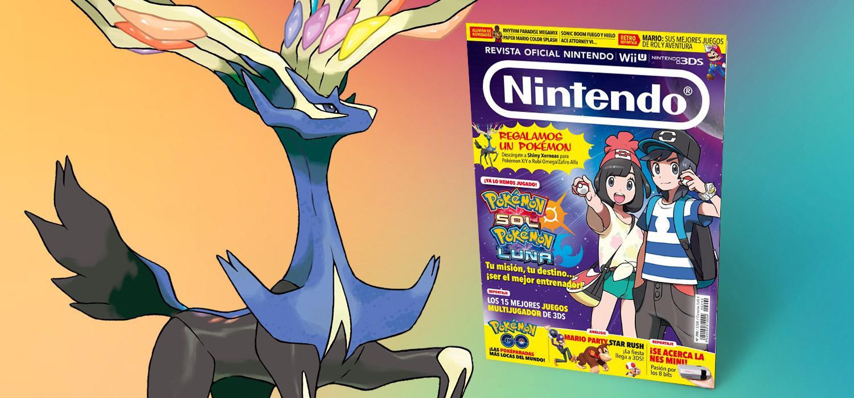Revista Oficial Nintendo 290 con Shiny Xerneas de regalo