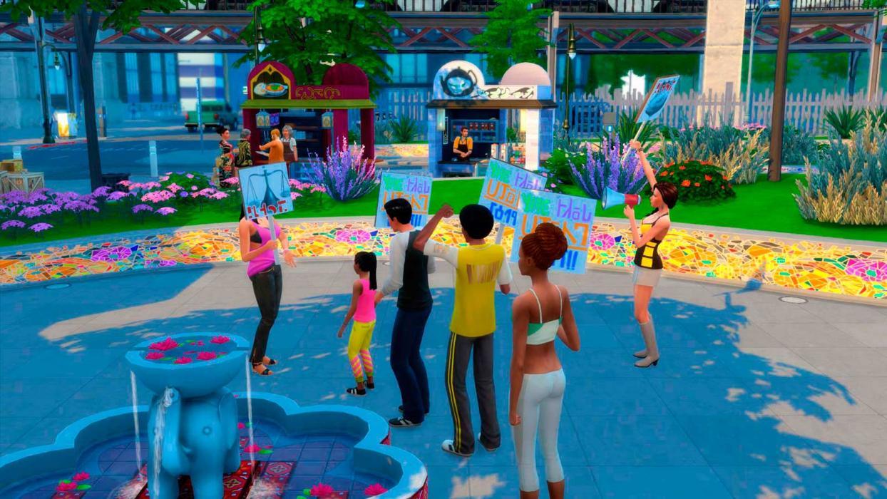 Los Sims 4: Urbanitas 10