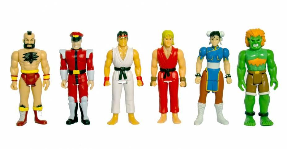 Figuras retro Street Fighter II de Super 7