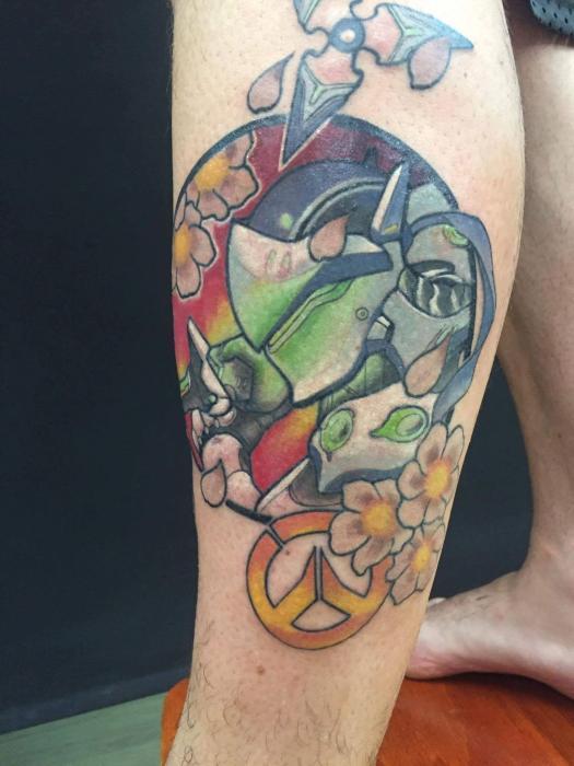 Tatuaje de videojuegos