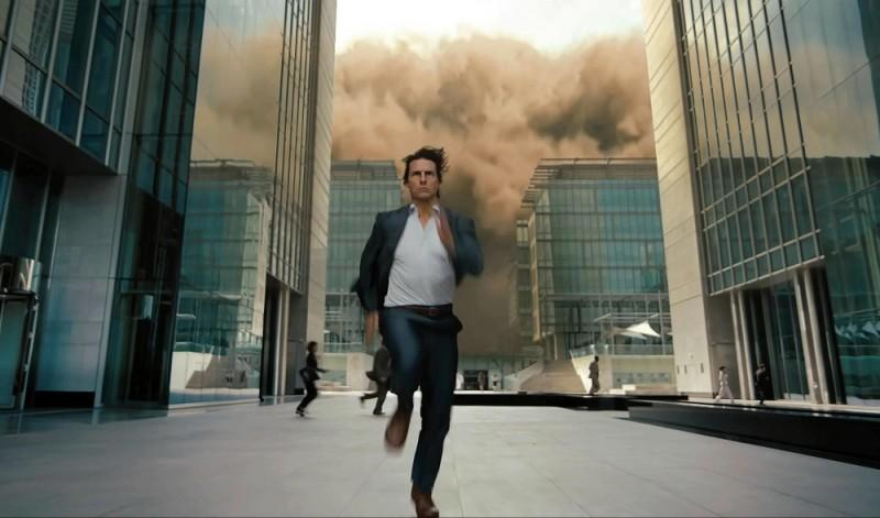 Tom Cruise corre