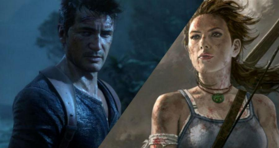 Uncharted y Tomb Raider
