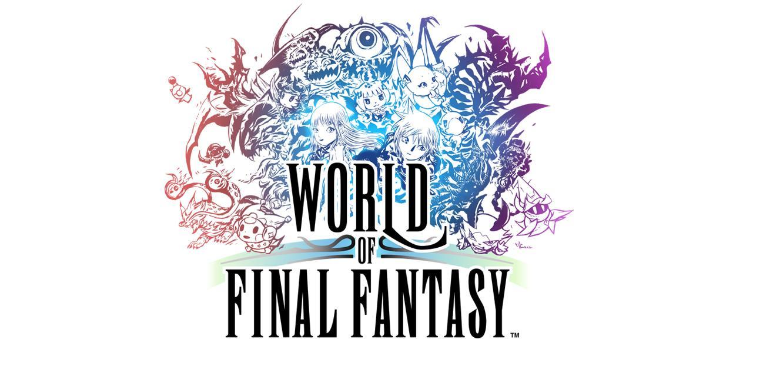 World of Final Fantasy - Cabecera