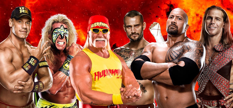 WWE - Los luchardoes más carismáticos del pressing catch