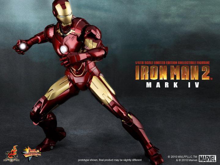 13. Iron Man Mark IV (Iron Man 2) - MMS123