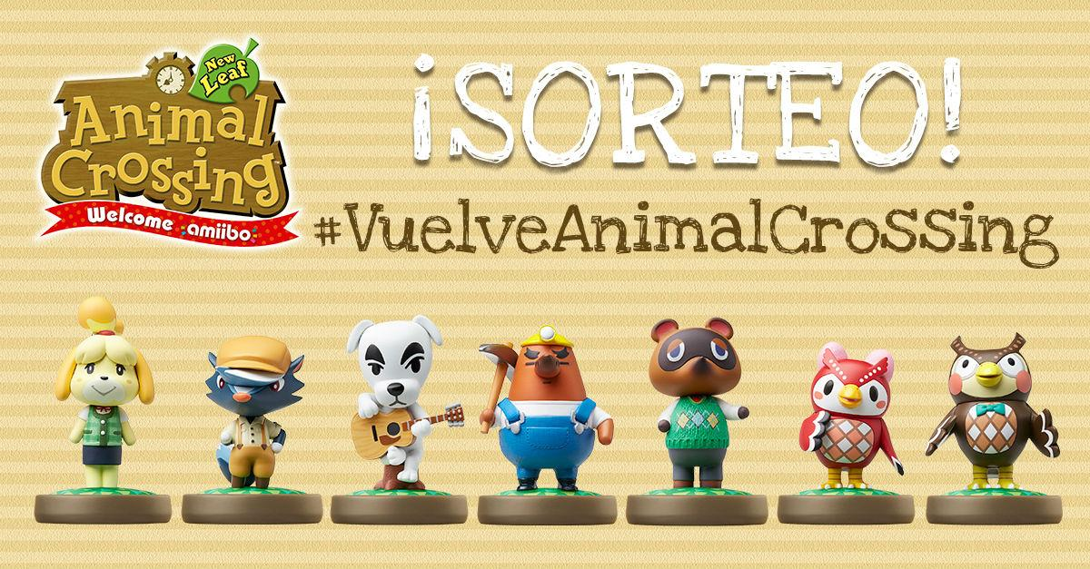 Animal Crossing sorteo amiibo