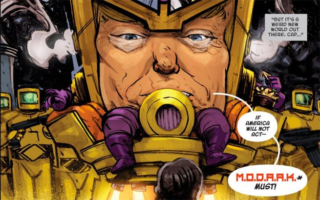 Donald Trump comic