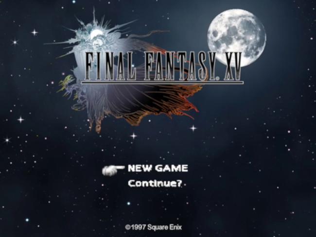 Final Fantasy XV en PS1