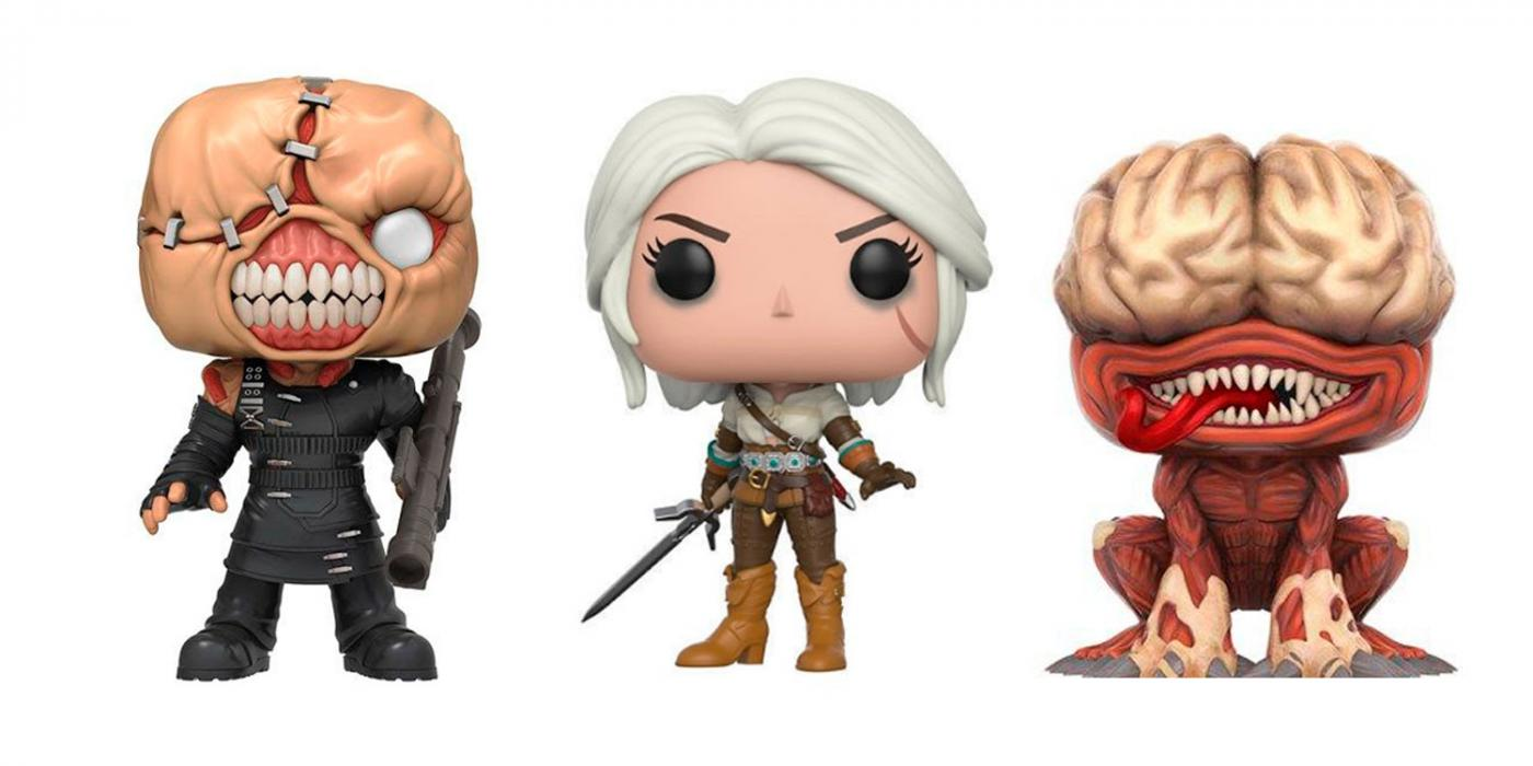Funko Pop: The Witcher + Resident Evil