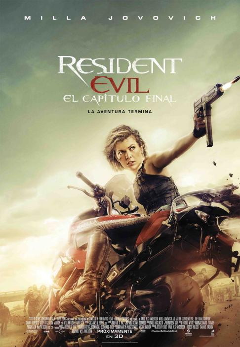 Poster Resident Evil Alice