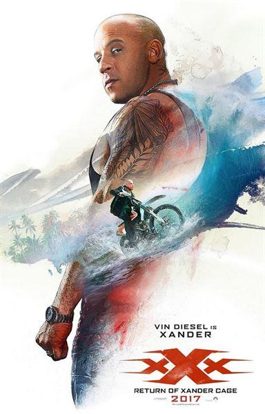 xXx: The Return of Xander Cage - pósters individuales